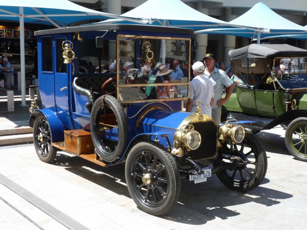Perth to Armadale run 2013 - Veteran Car Club of W.A